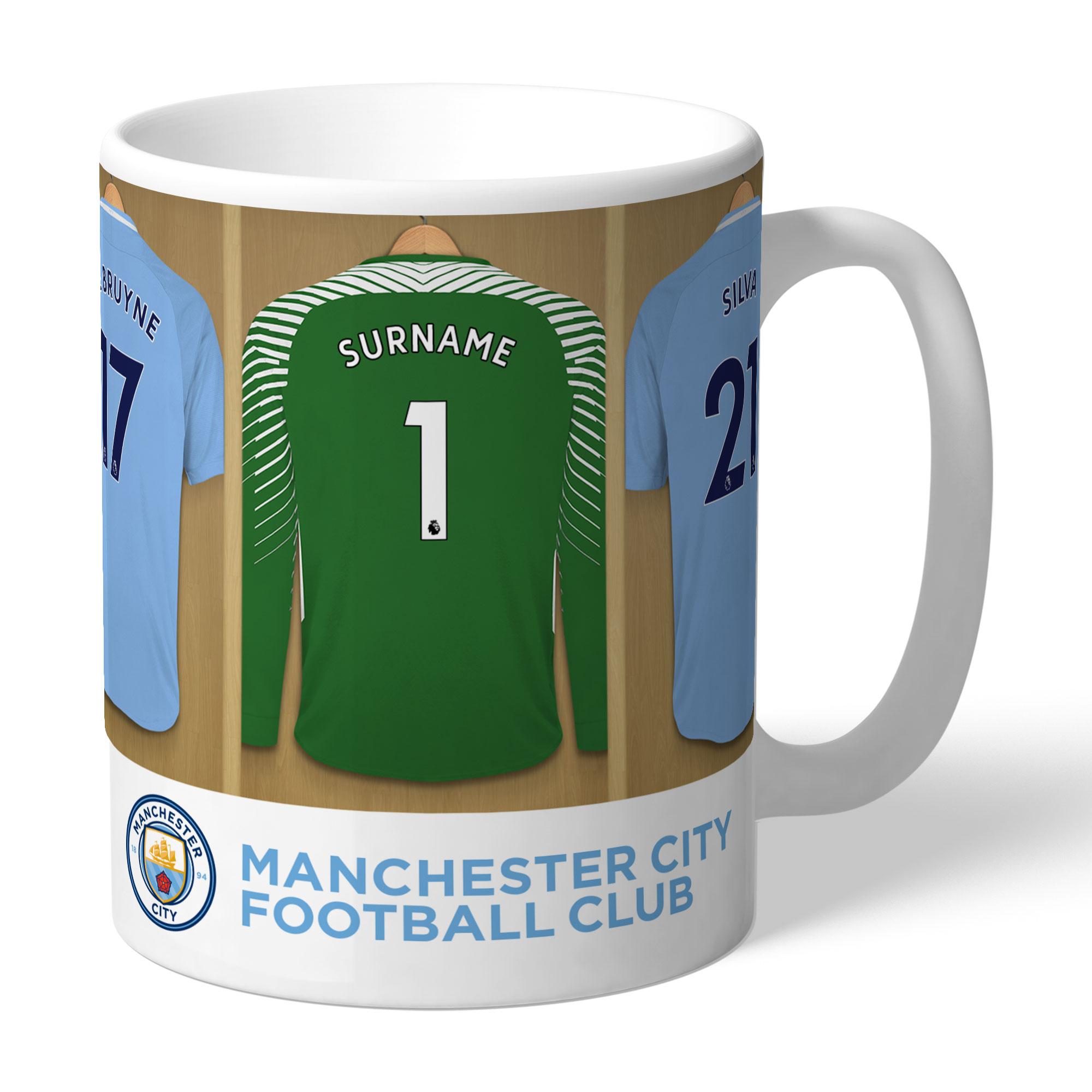 Manchester City FC Goalkeeper Dressing Room Mug