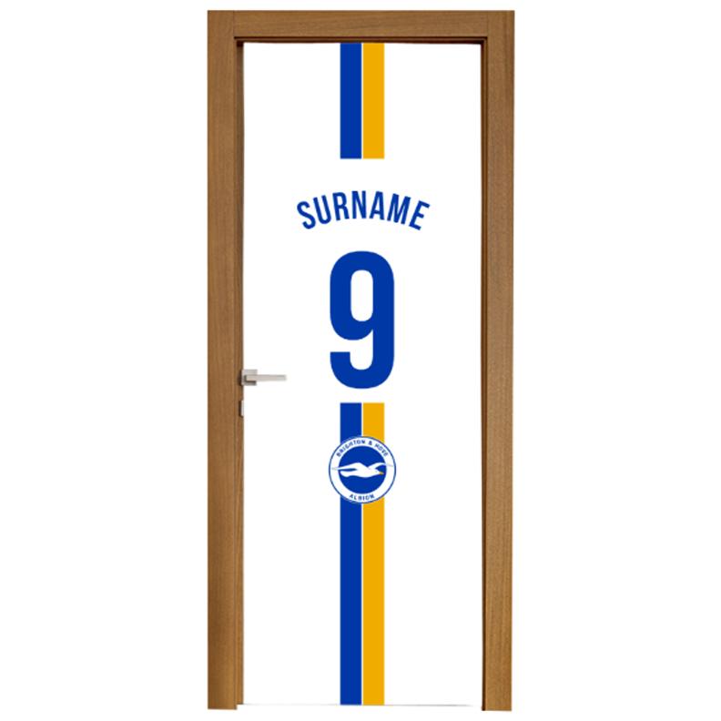 Brighton & Hove Albion FC Shirt Door Banner