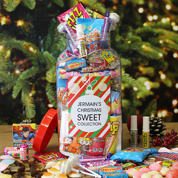 Christmas Sweet Jar - Large