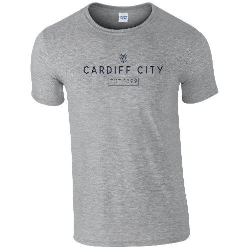 Cardiff City FC Minimal T-Shirt