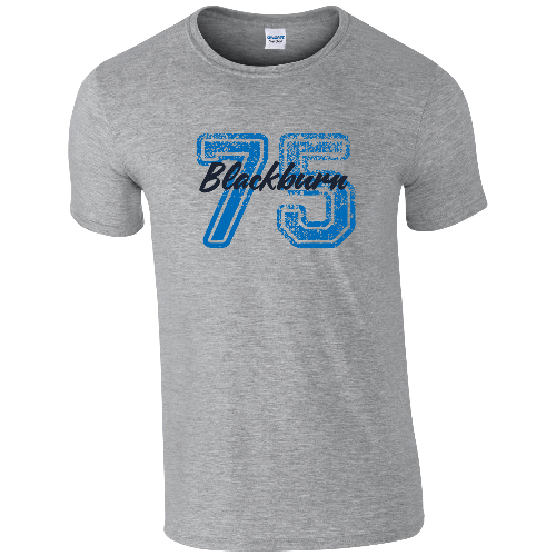 Blackburn Rovers FC Varsity Number T-Shirt