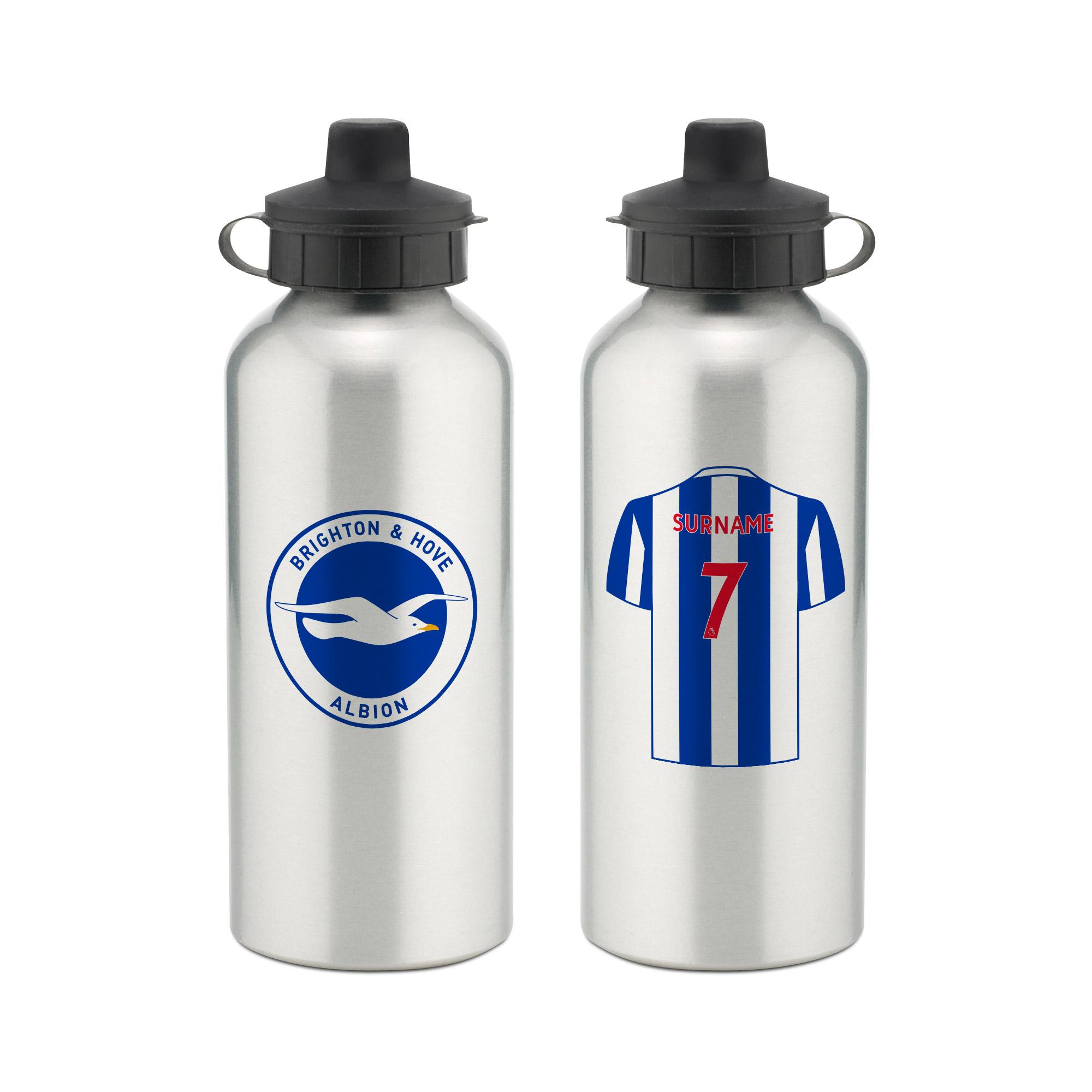 Brighton & Hove Albion FC Aluminium Water Bottle