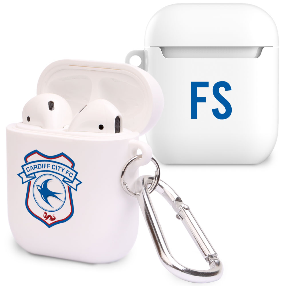 Cardiff City FC Initials Airpod Case