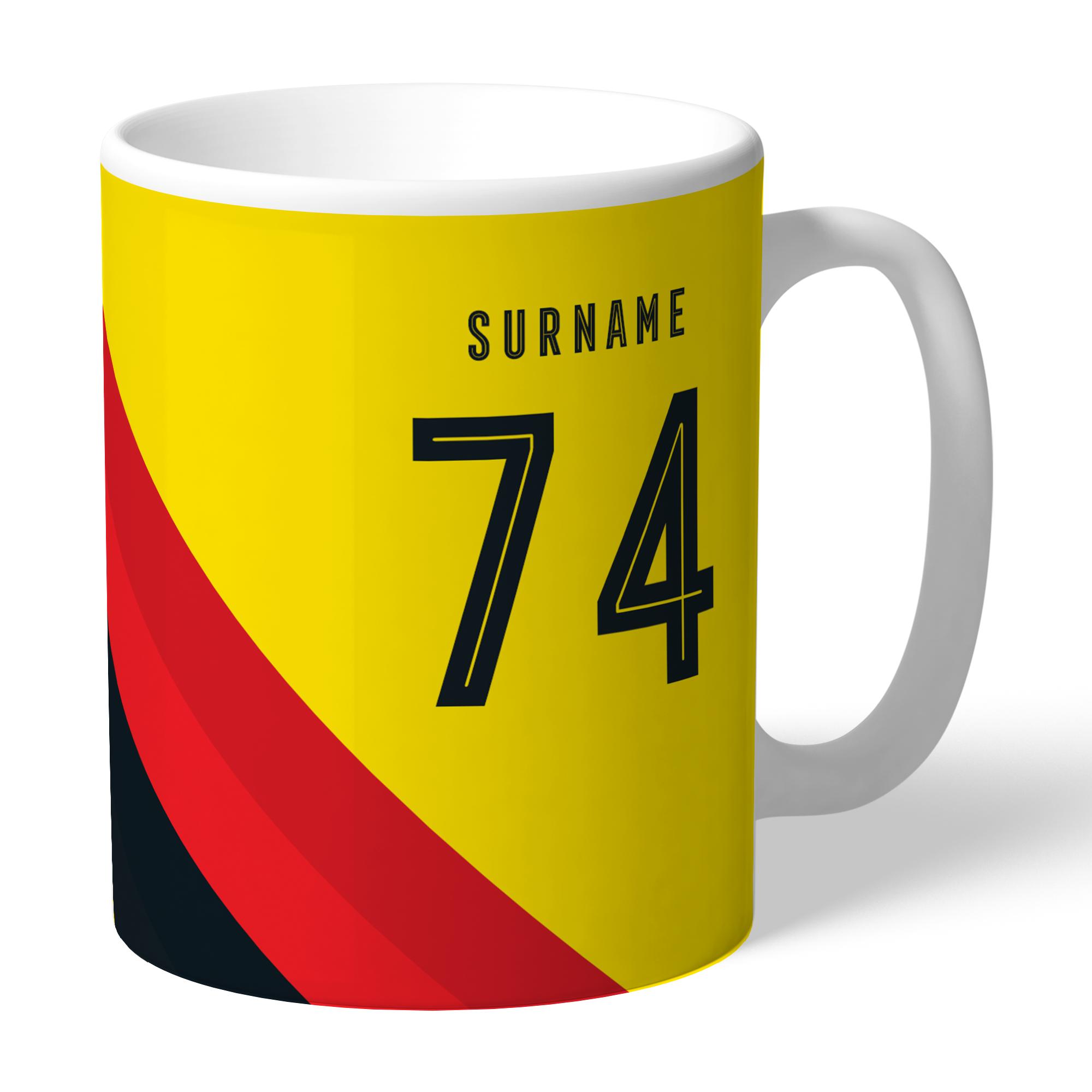 Watford FC Stripe Mug