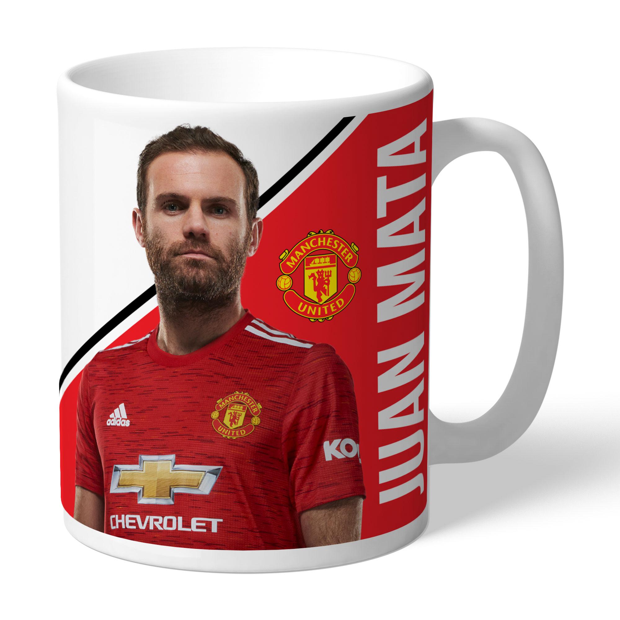 Manchester United FC Mata Autograph Mug