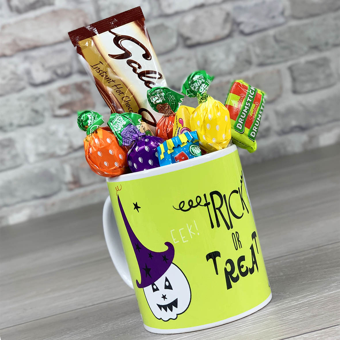 Trick or Trick - Non Personalised Mug With Sweets