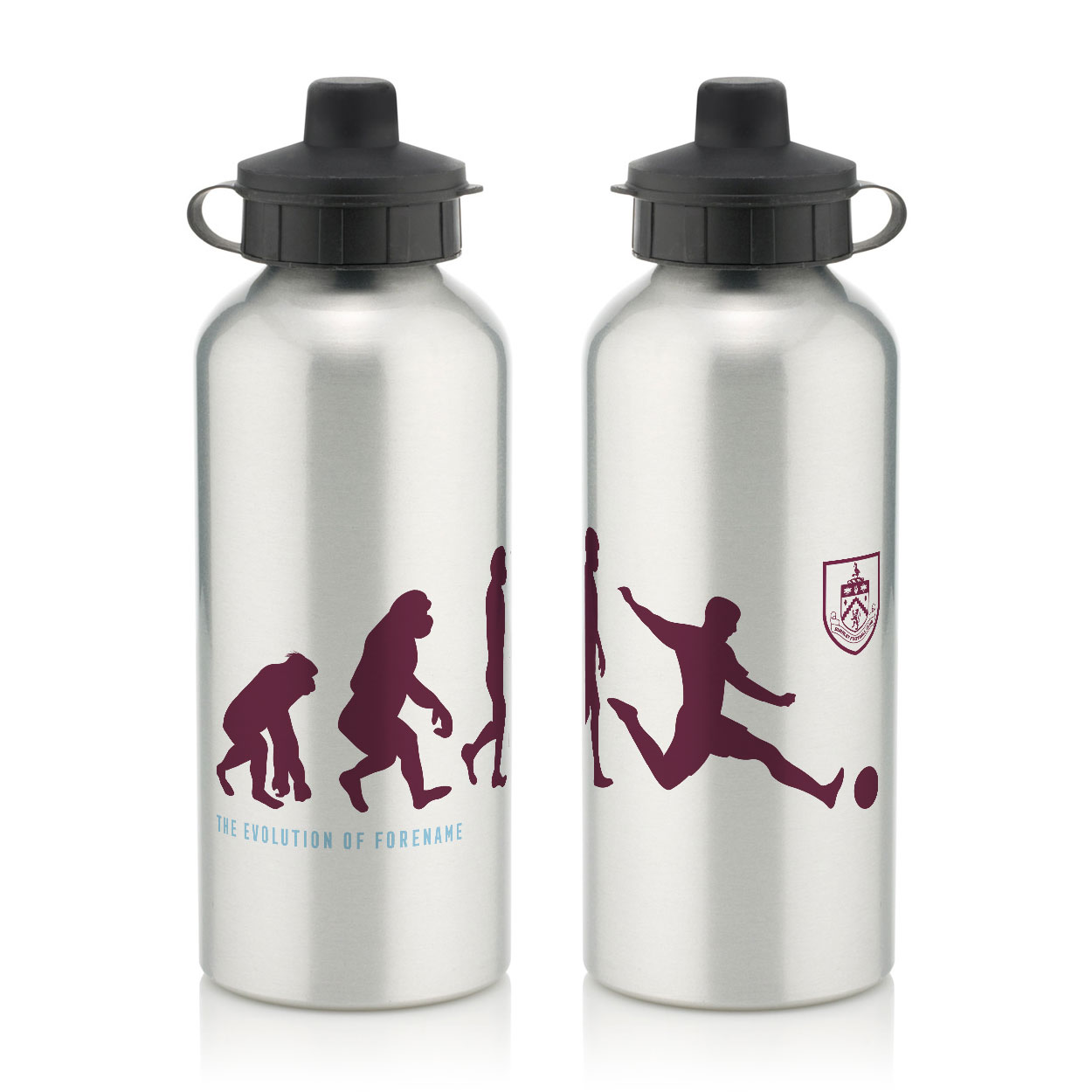 Burnley FC Evolution Water Bottle