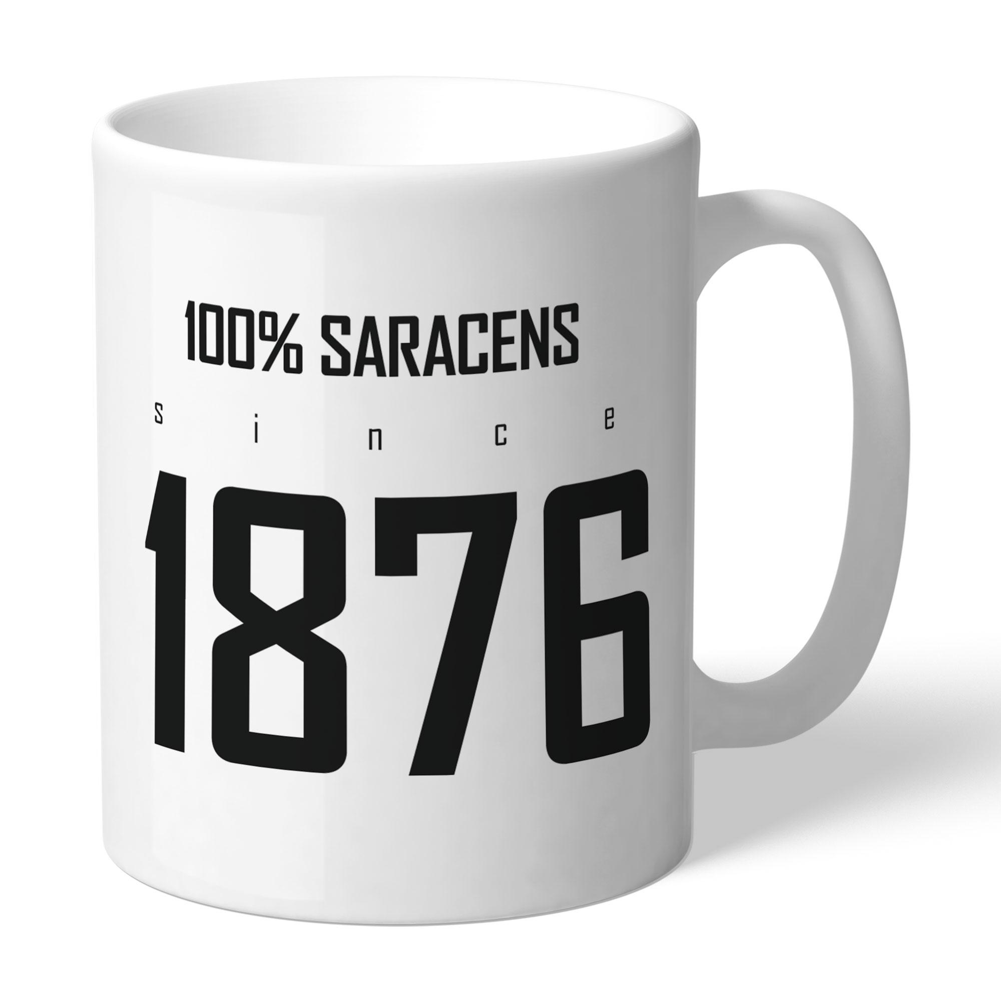 Saracens 100 Percent Mug