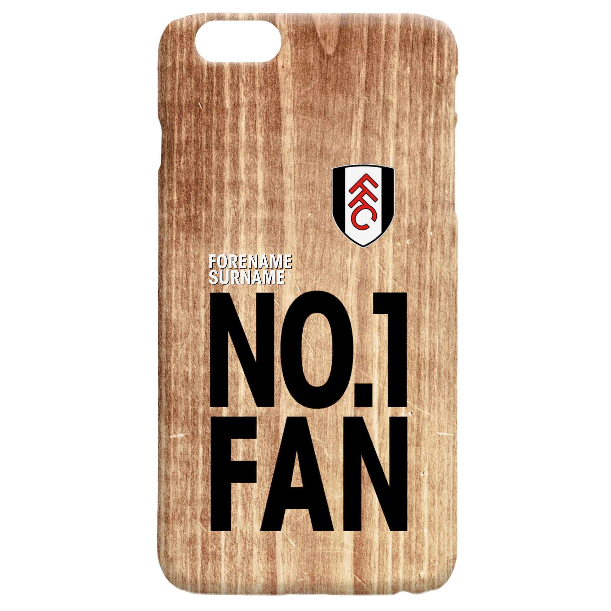 Fulham FC No 1 Fan Hard Back Phone Case