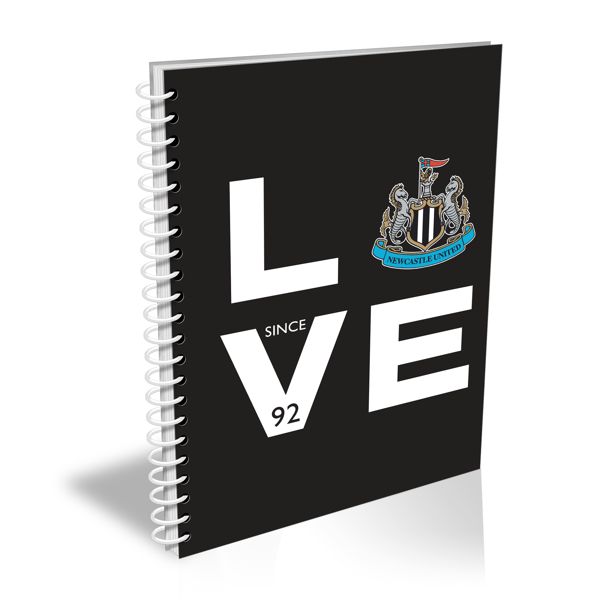 Newcastle United FC Love Notebook