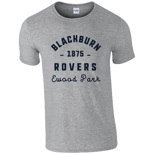 Blackburn Rovers FC Stadium Vintage T-Shirt
