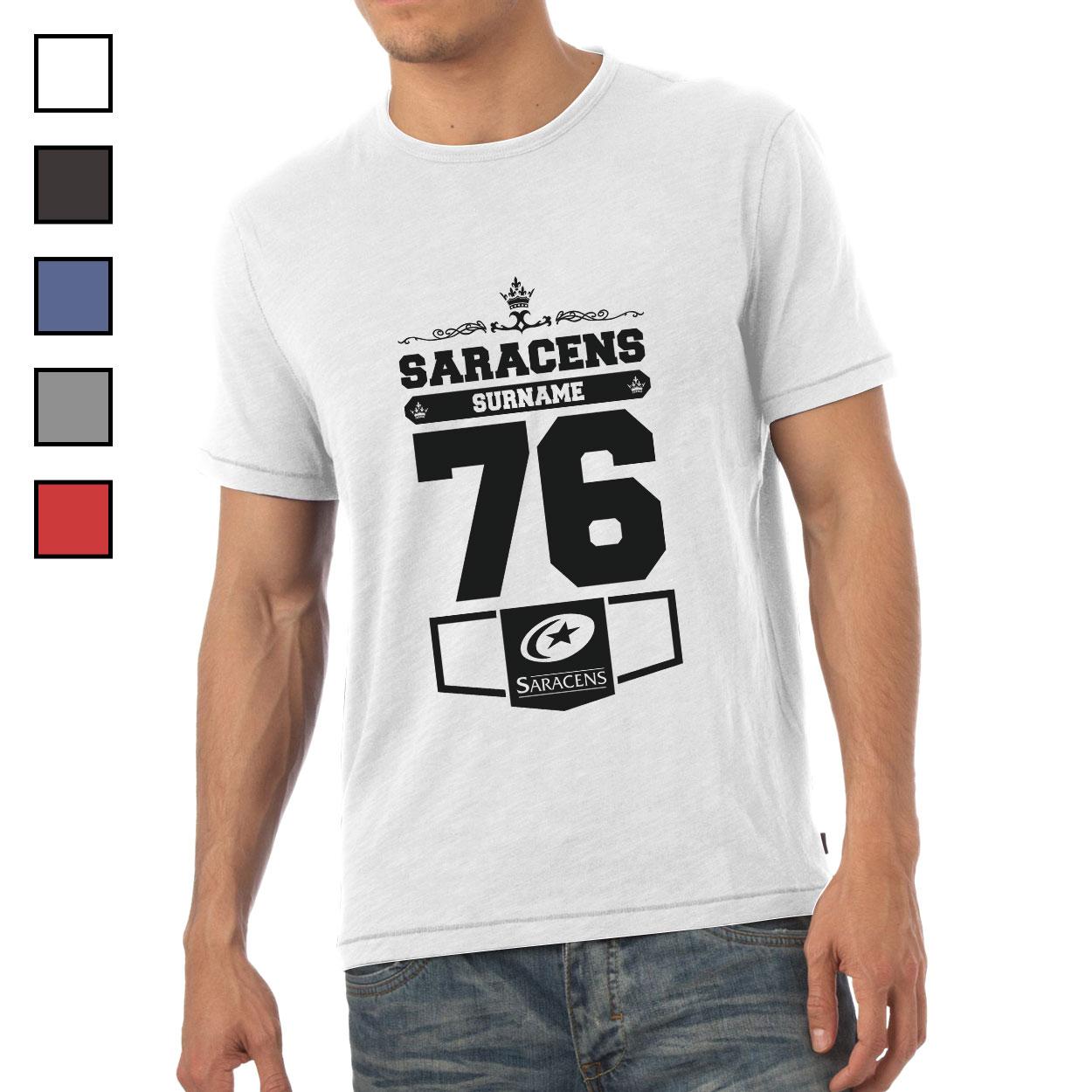 Saracens Mens Club T-Shirt