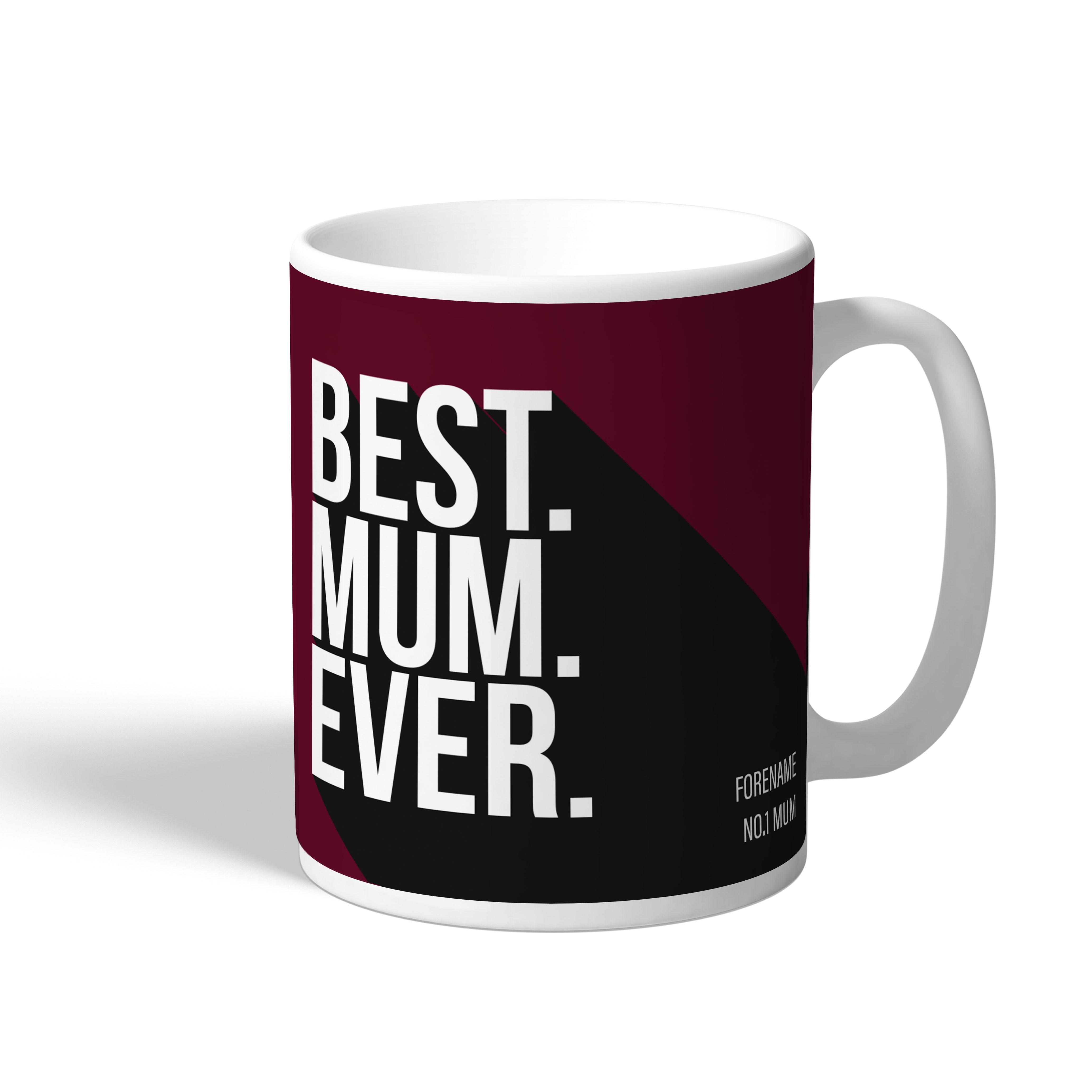 West Ham United FC Best Mum Ever Mug