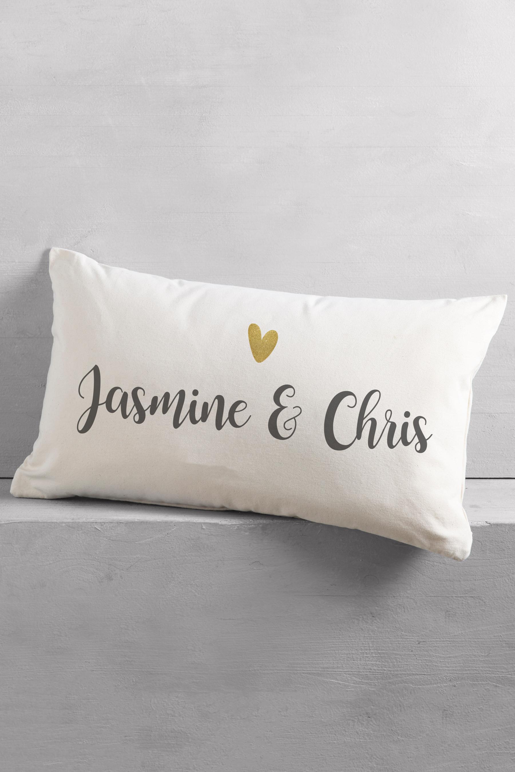 Couple Rectangle Cushion