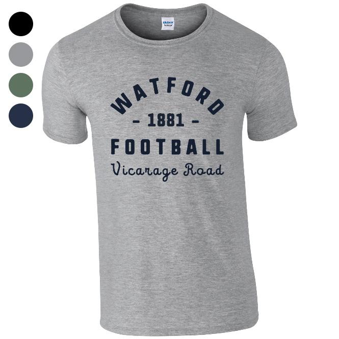 Watford FC Stadium Vintage T-Shirt