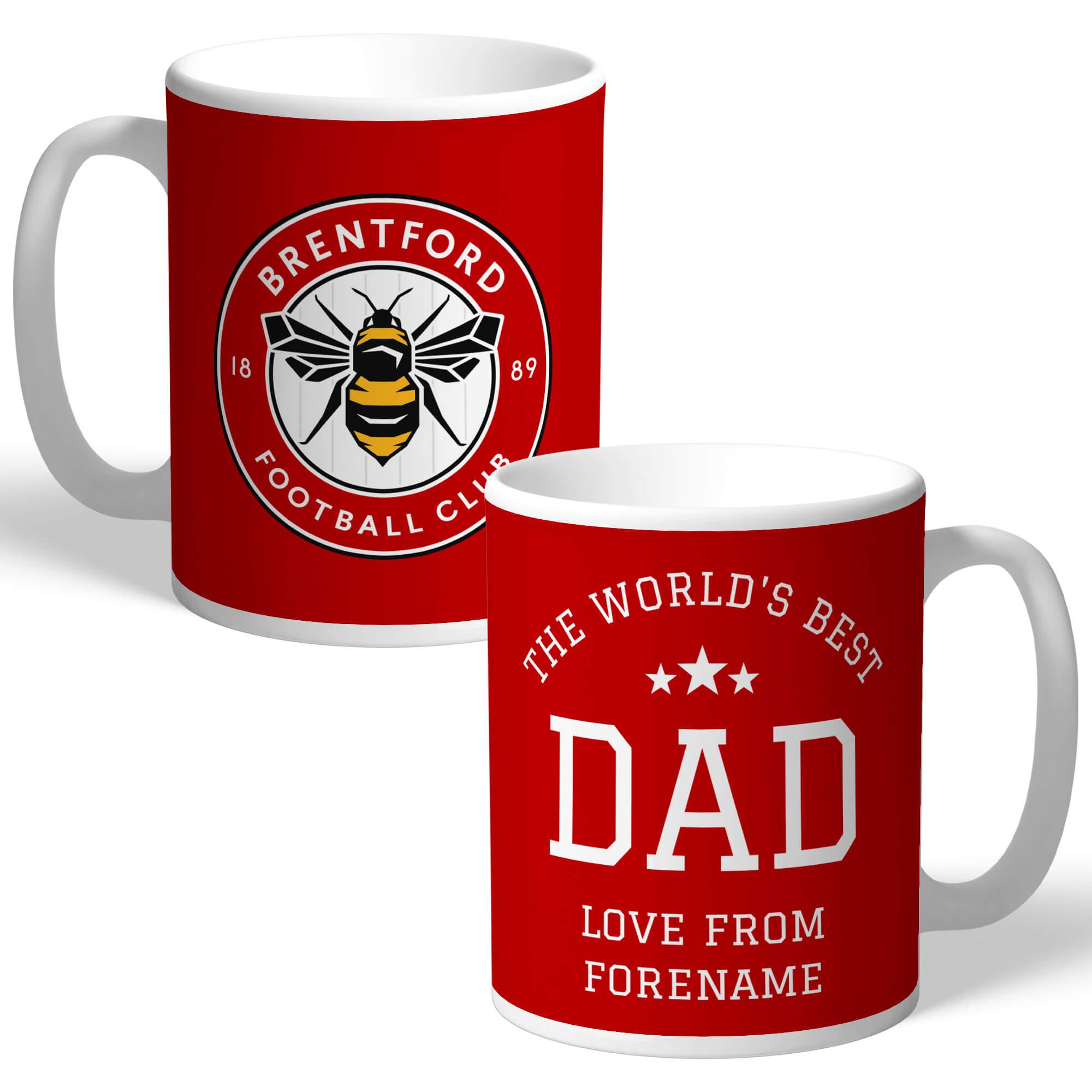 Brentford FC World's Best Dad Mug