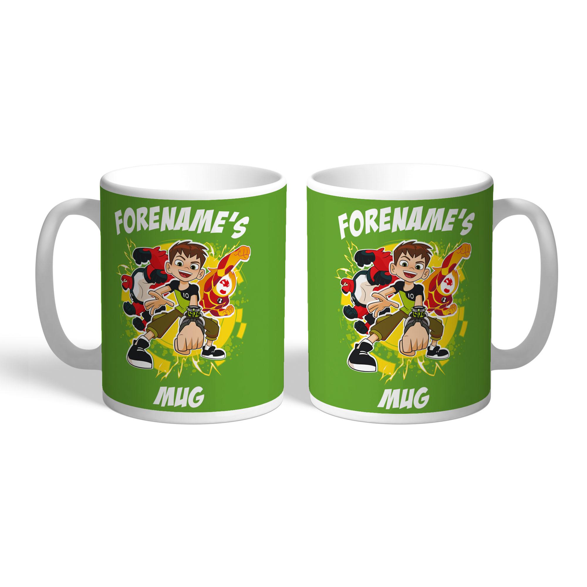 Ben 10 Names Mug