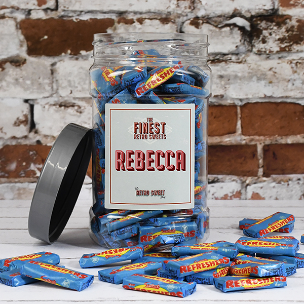 Refresher Chews Sweet Jar