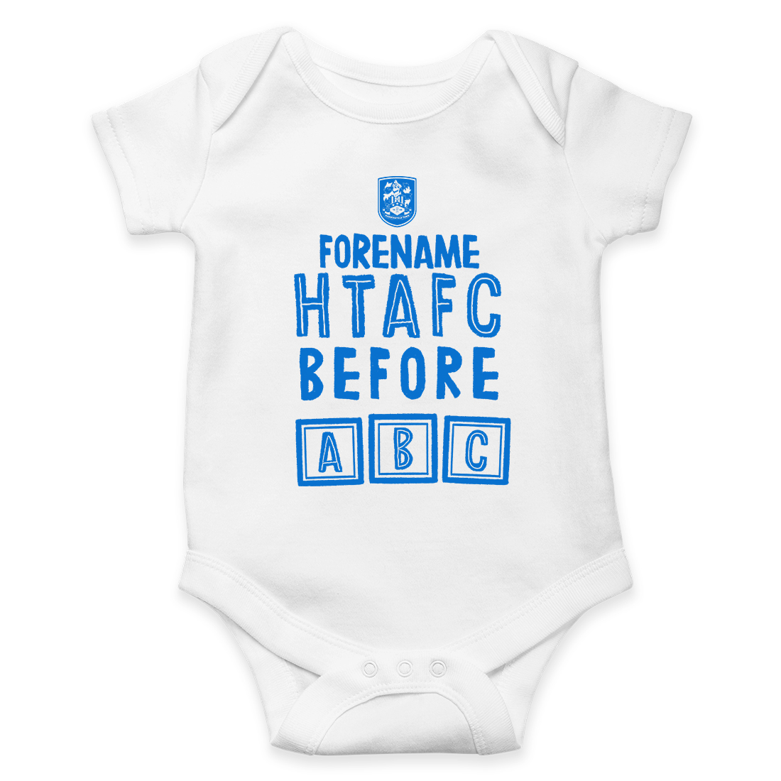 Huddersfield Town AFC Before ABC Baby Bodysuit