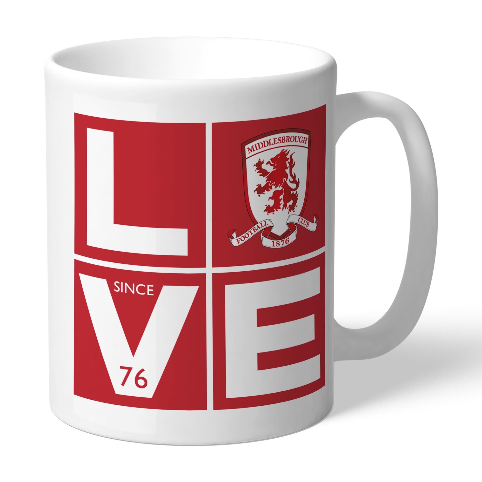 Middlesbrough Love Mug