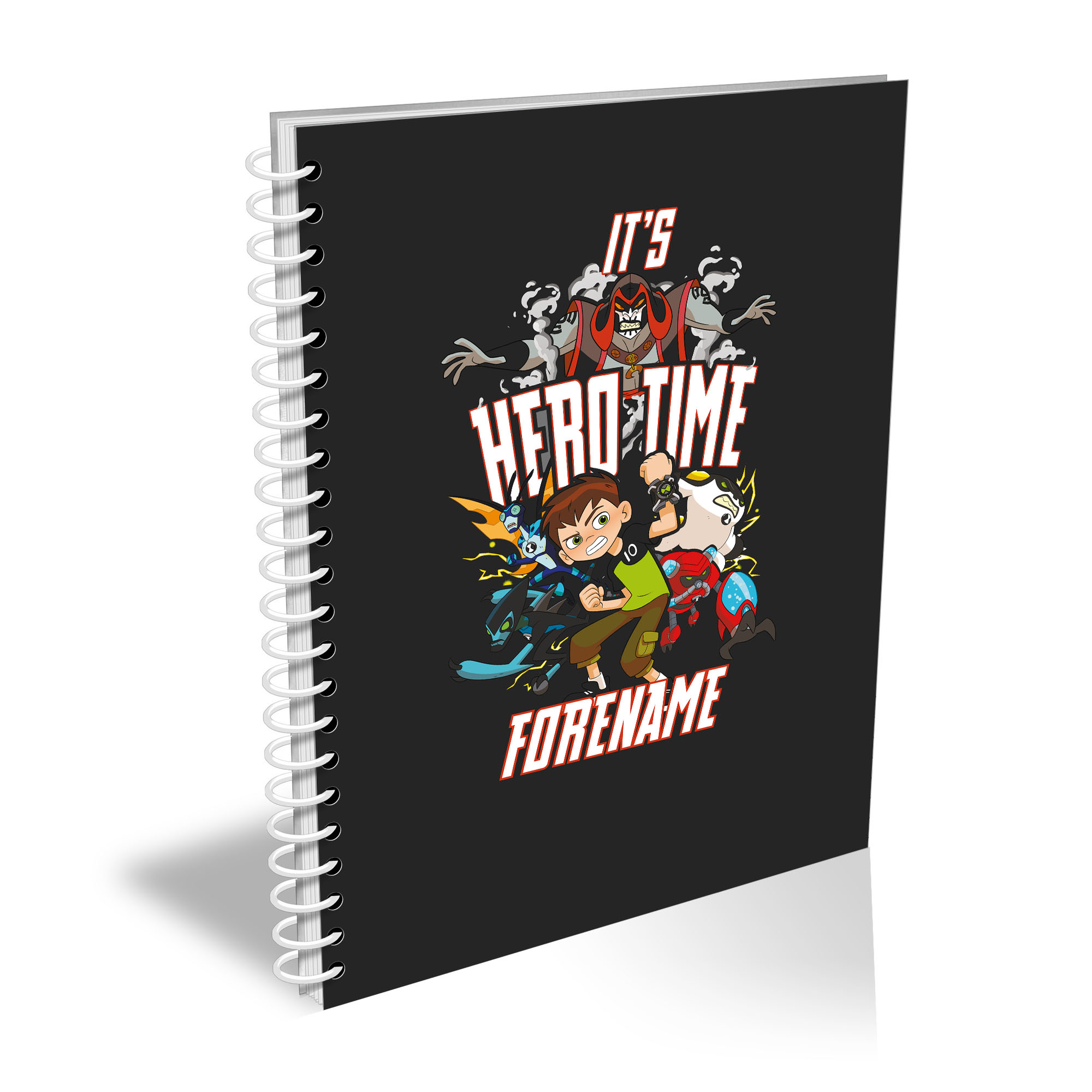 Ben 10 Hero Time A4 Notebook