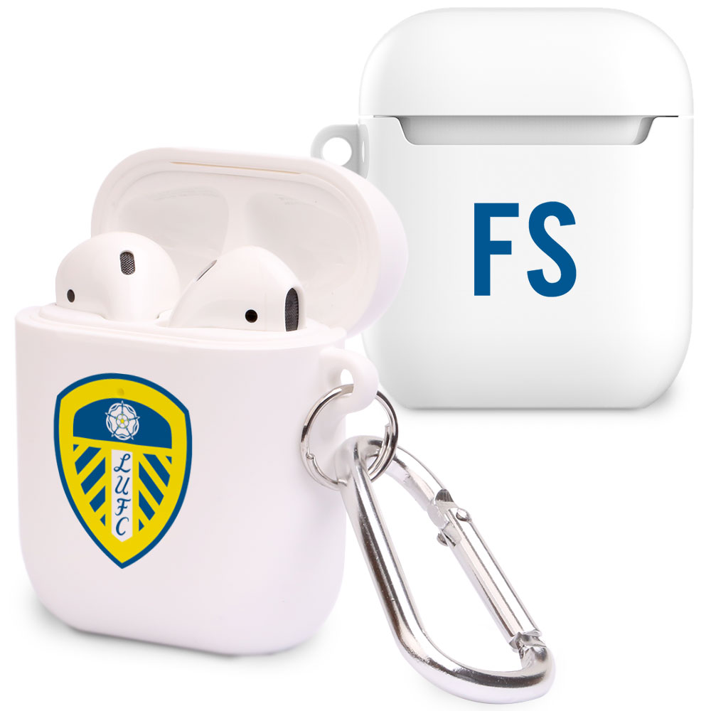 Leeds United FC Initials Airpod Case
