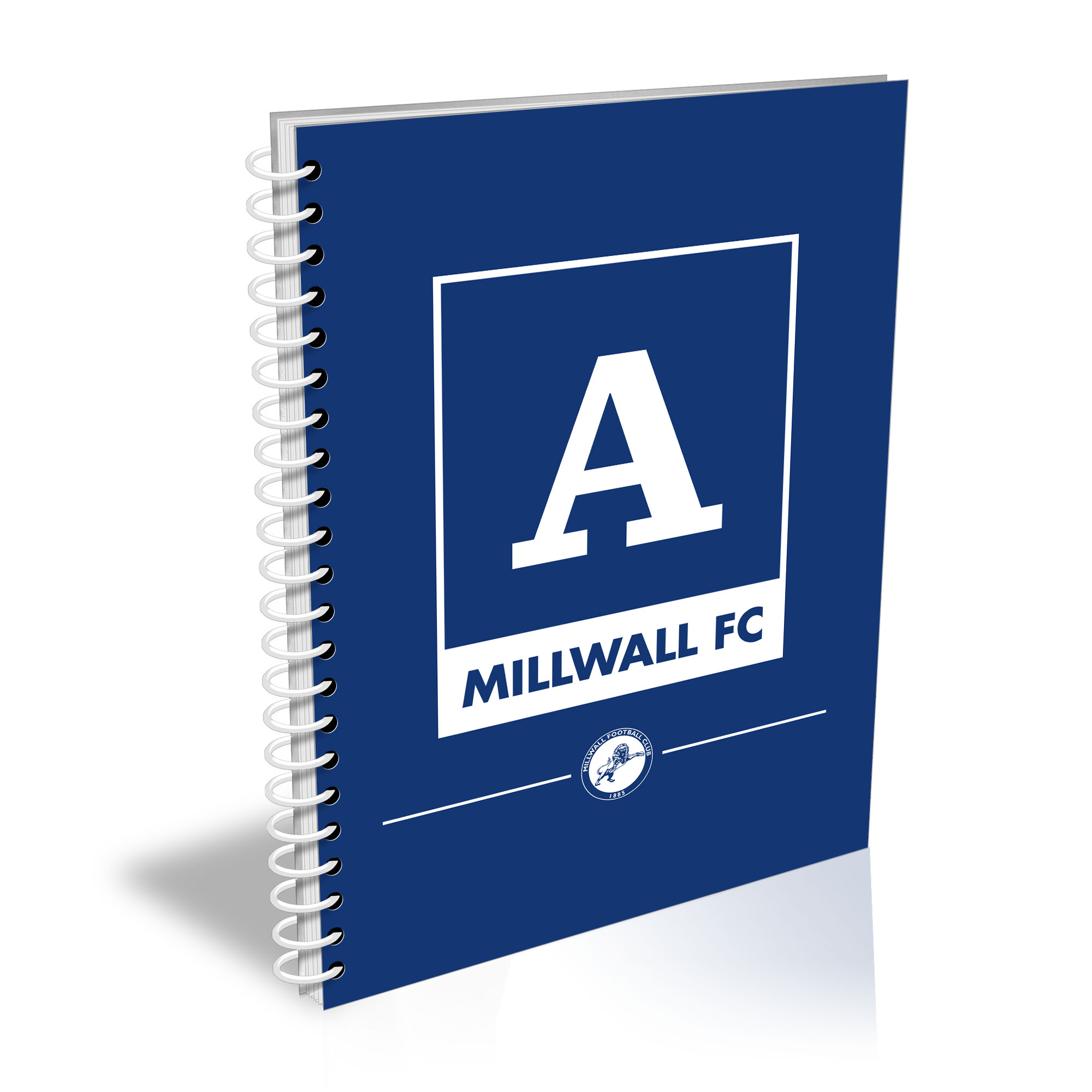 Millwall Monogram A5 Lined Notepad