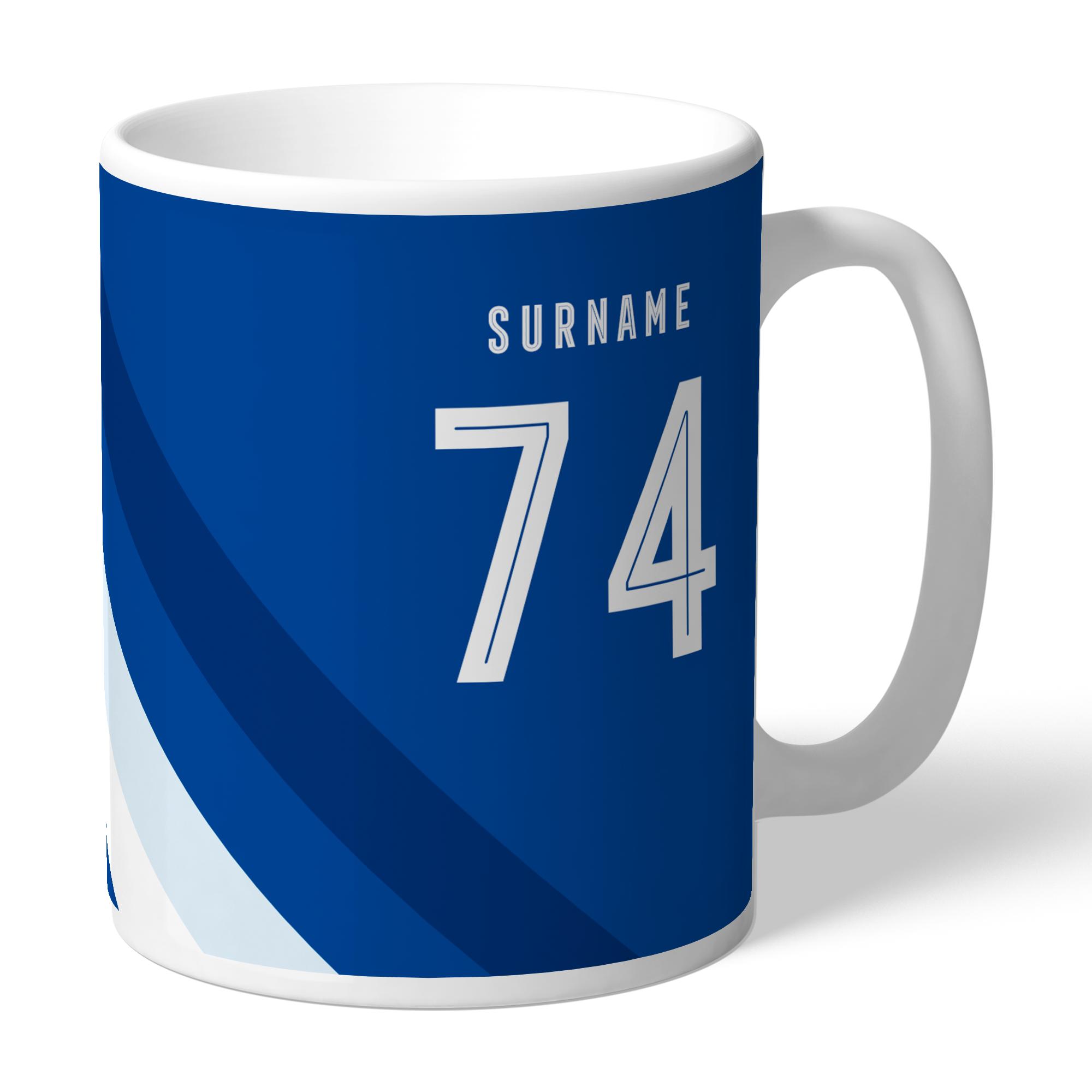 Chelsea FC Stripe Mug