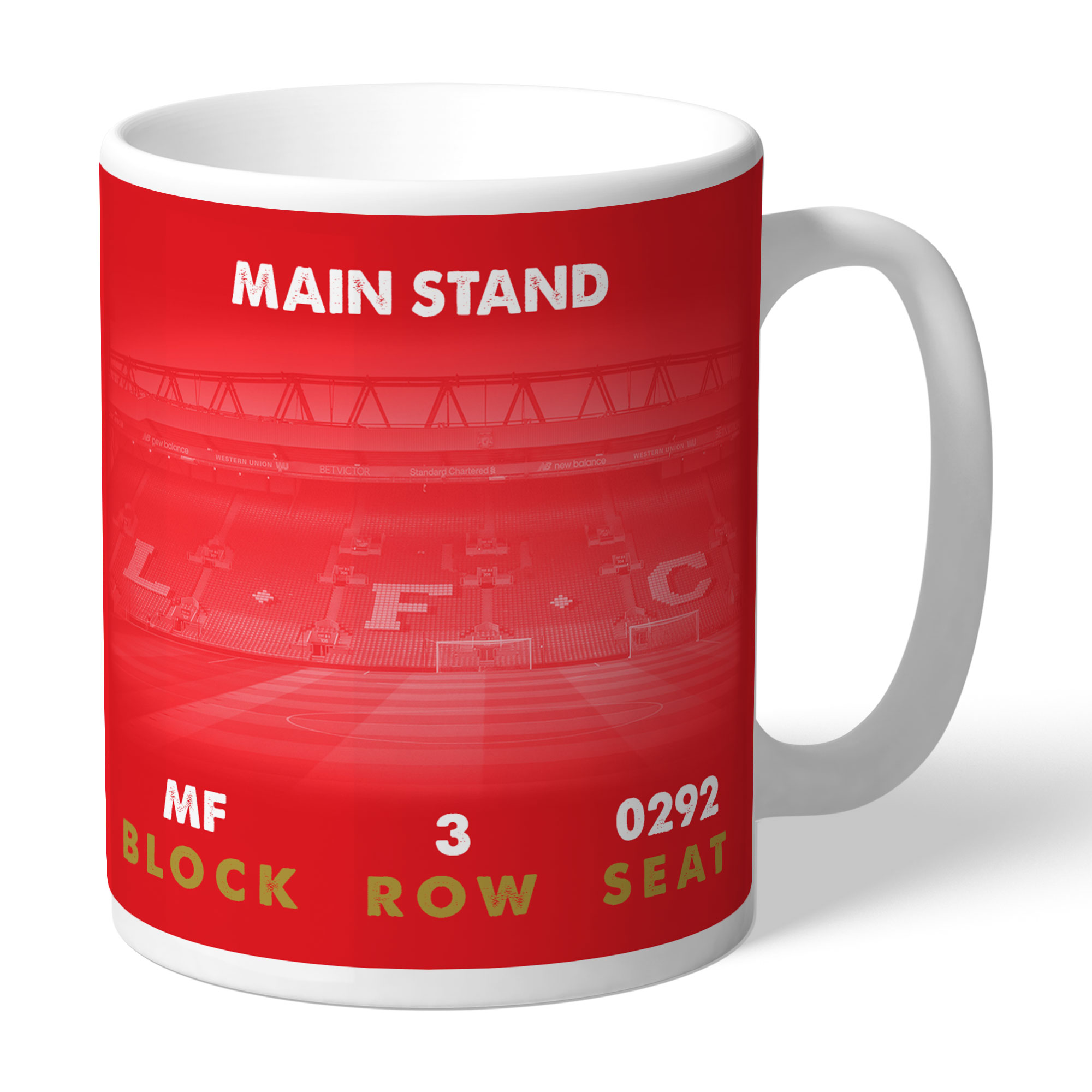 Liverpool FC My Seat in Anfield Mug