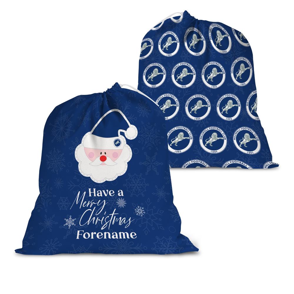 Millwall FC Merry Christmas Santa Sack