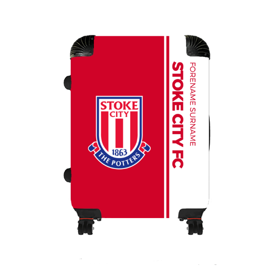 Stoke City FC Crest Medium Suitcase