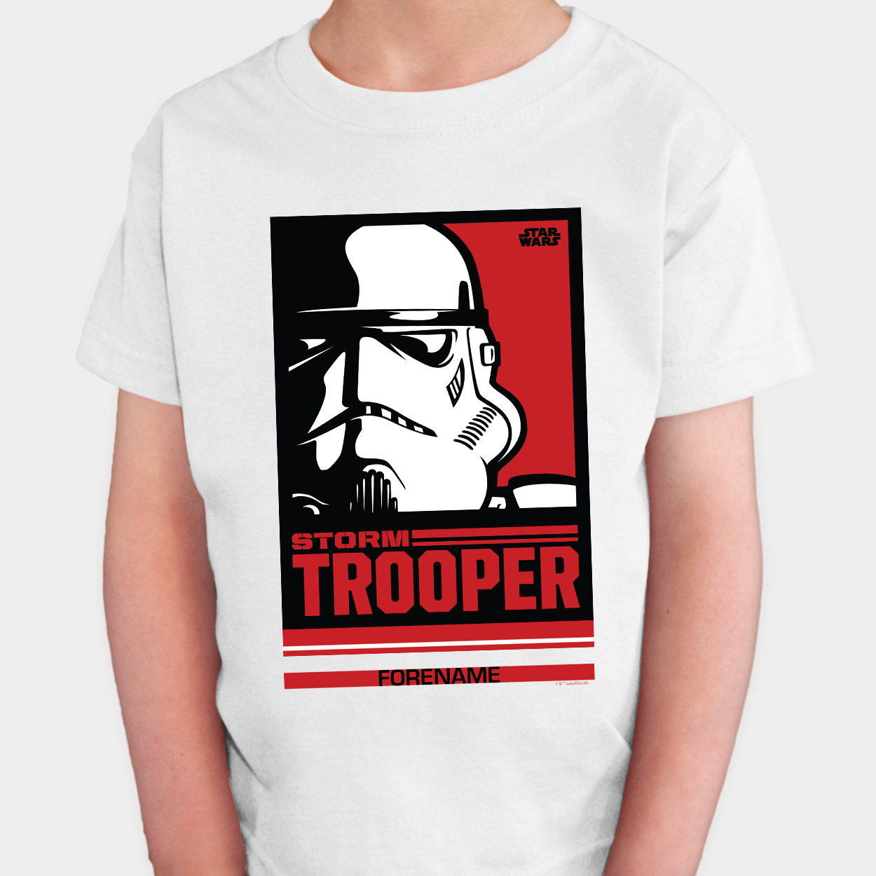 Star Wars Storm Trooper Pop Art Kids T-shirt