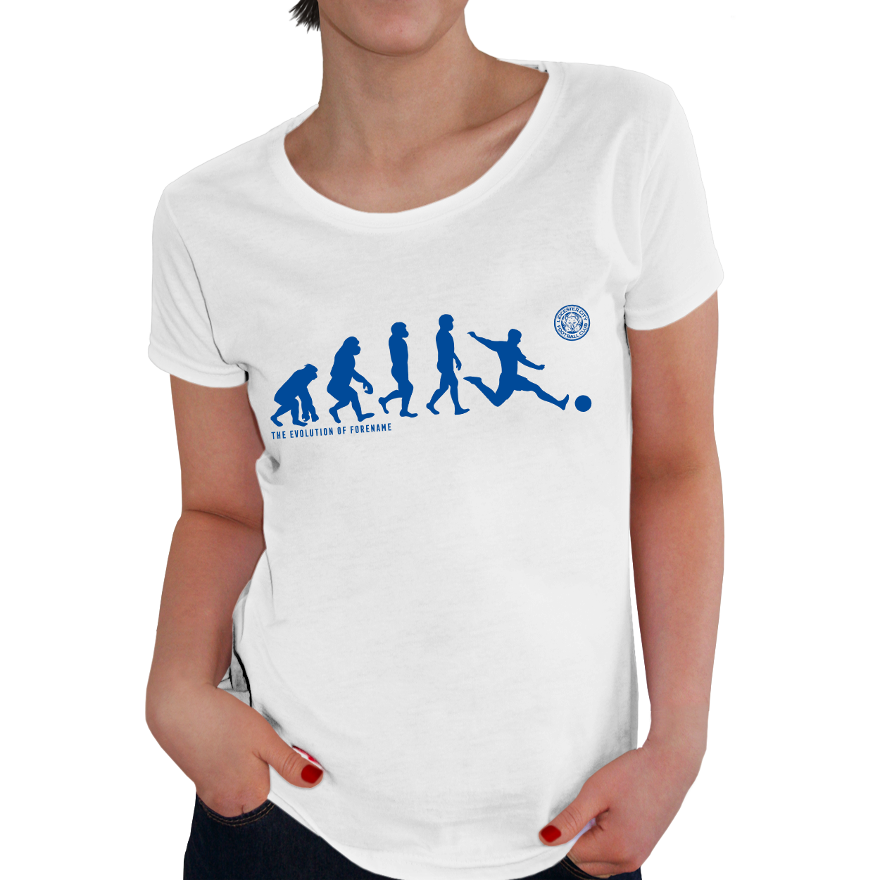 Leicester City FC Evolution Ladies T-Shirt