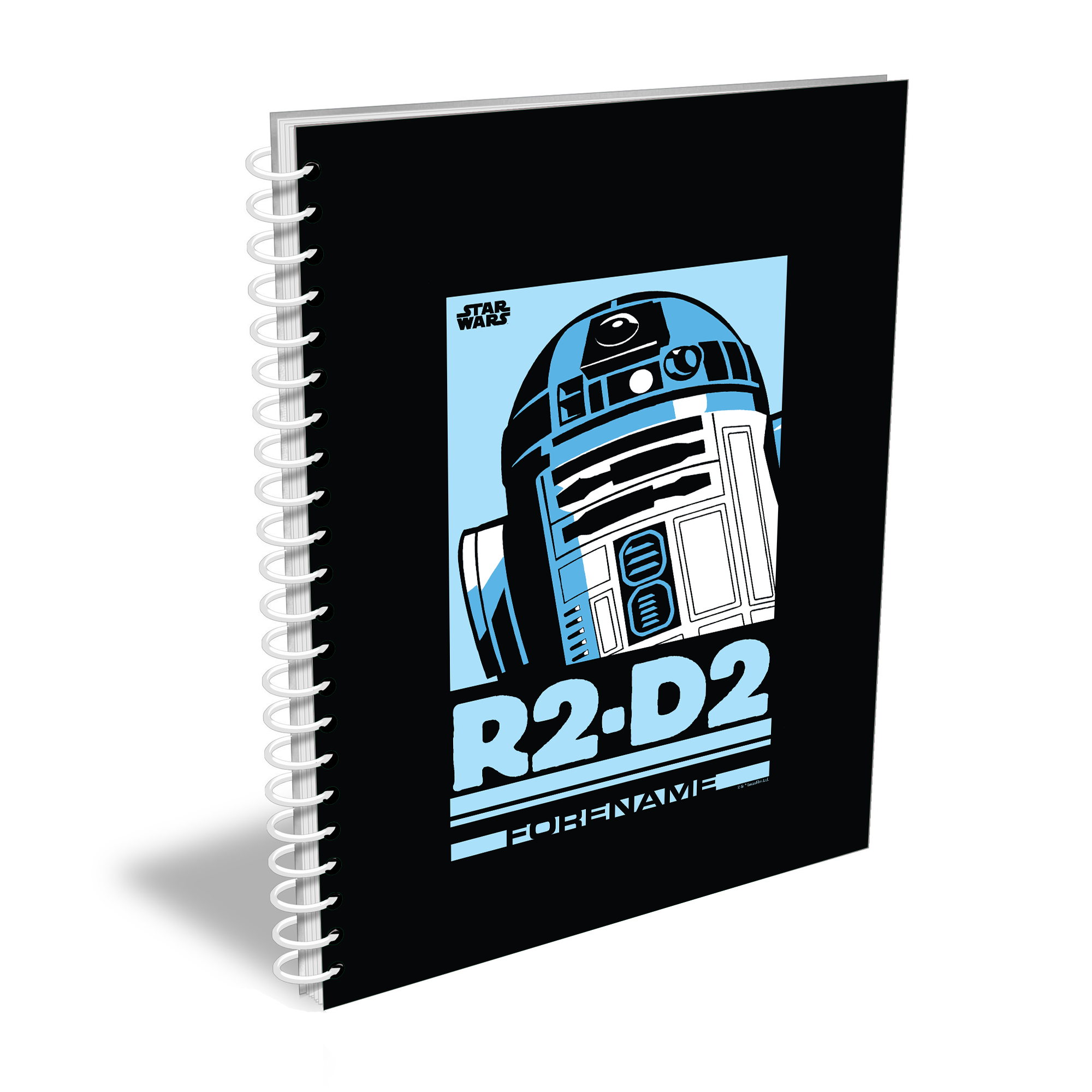Star Wars R2 D2 Pop Art A5 Notebook