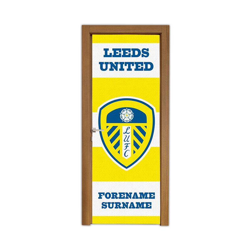 Leeds United FC Scarf Door Banner