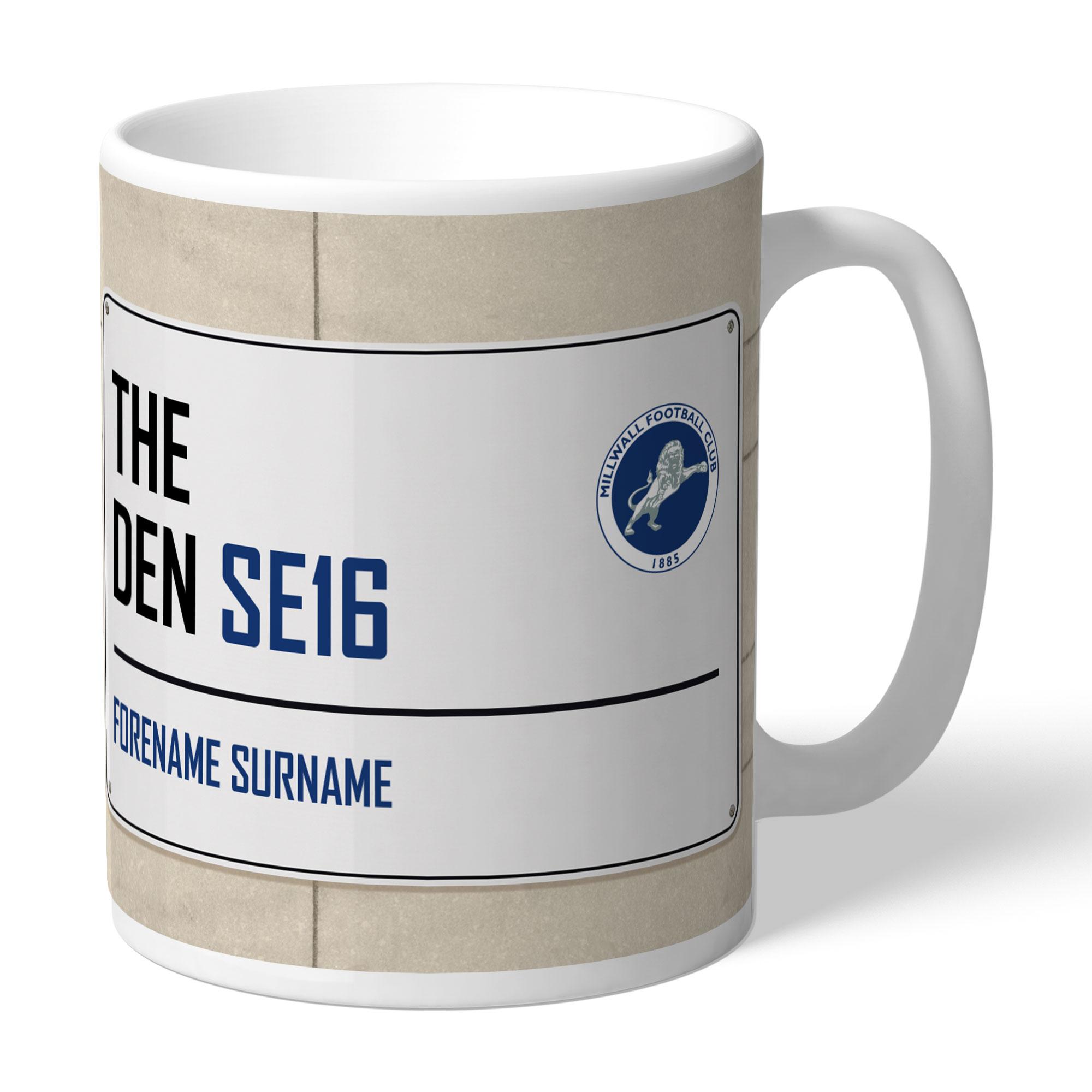 Millwall FC Street Sign Mug
