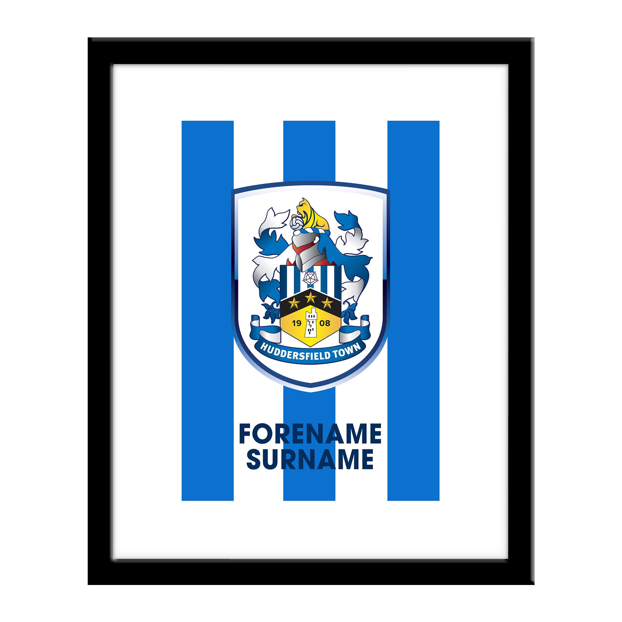 Huddersfield Town Bold Crest Print