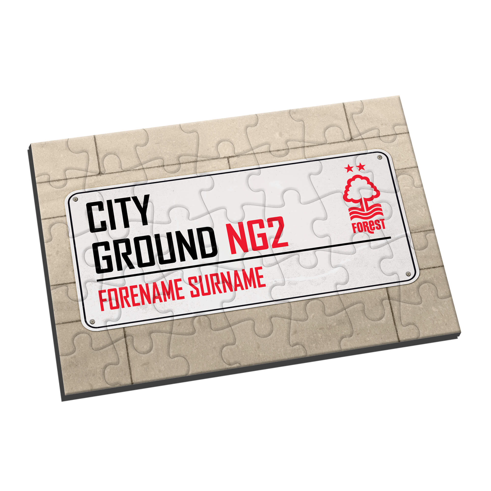 Nottingham Forest FC Street Sign Jigsaw