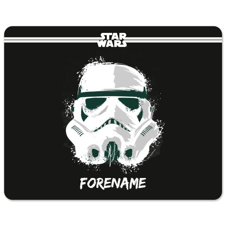 Star Wars Storm Trooper Paint Mouse Mat