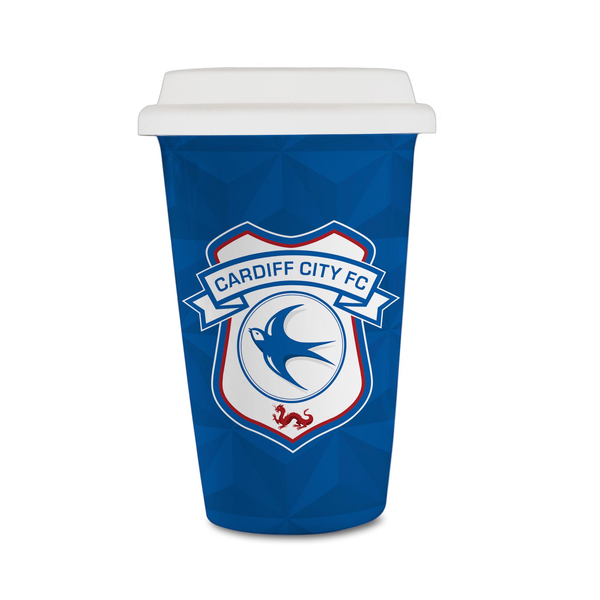 Cardiff City FC Crest Reusable Cup