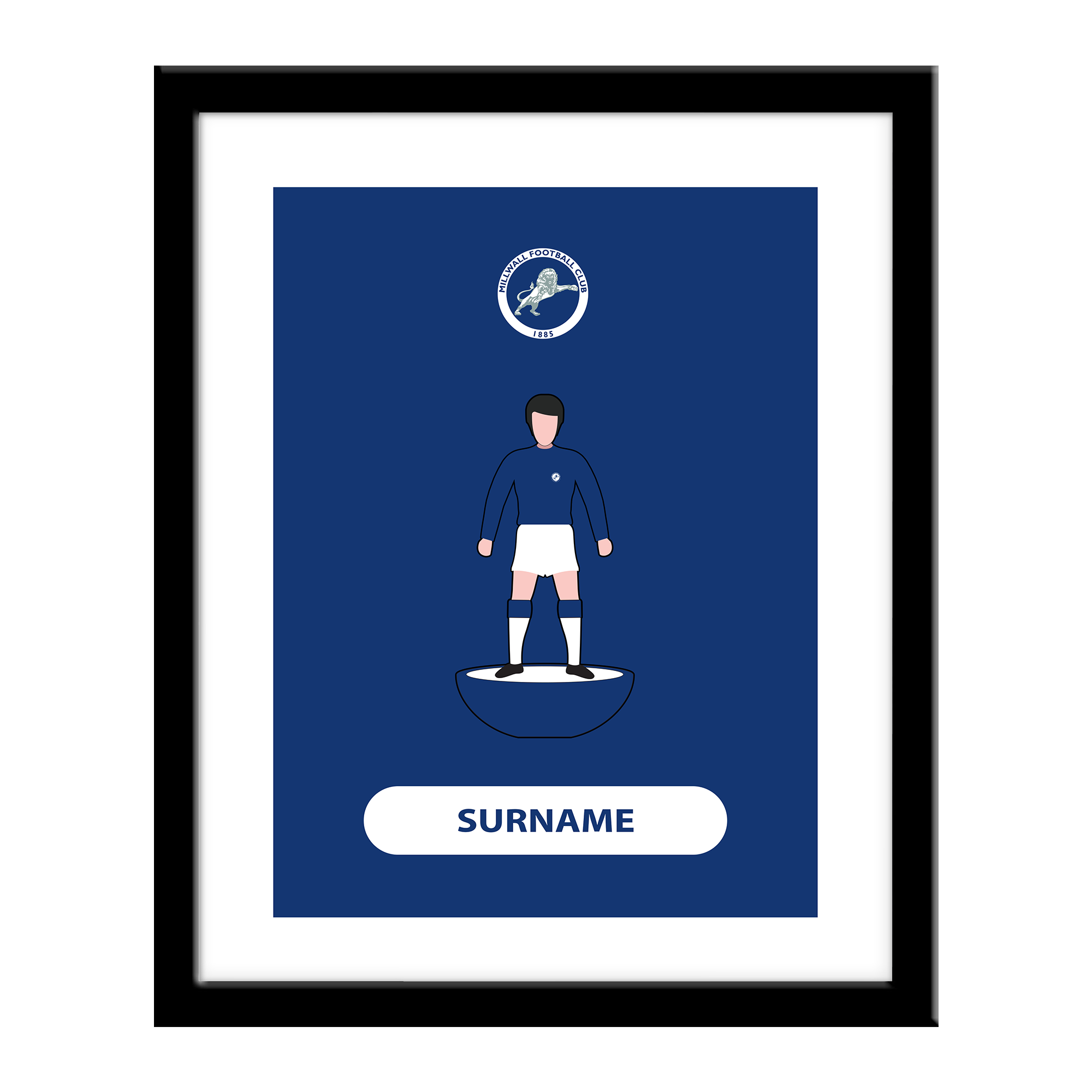 Millwall Player Figure Print