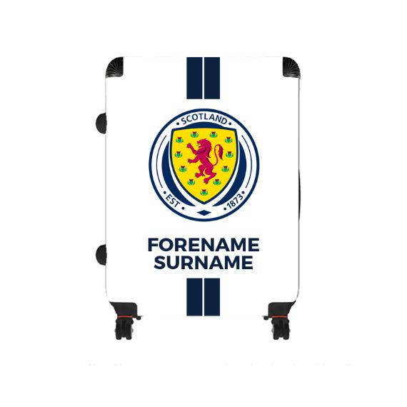 Scotland Stripe Large Suitcase