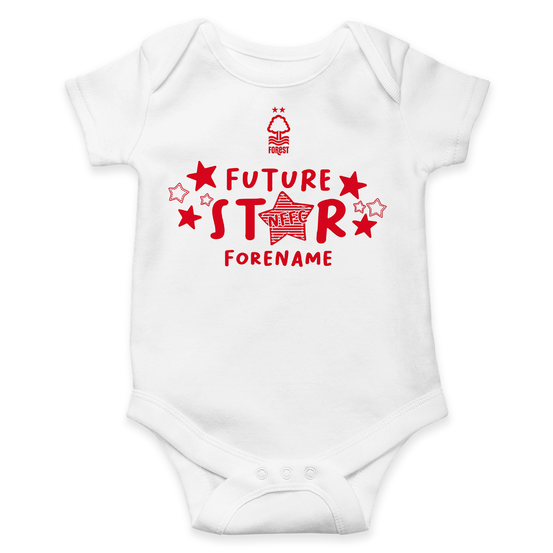 Nottingham Forest FC Future Star Baby Bodysuit