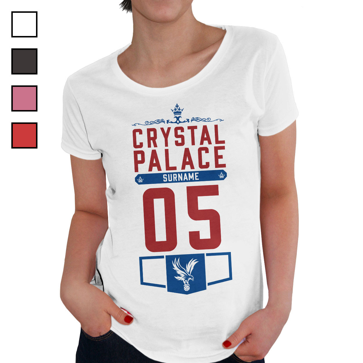 Crystal Palace FC Ladies Club T-Shirt