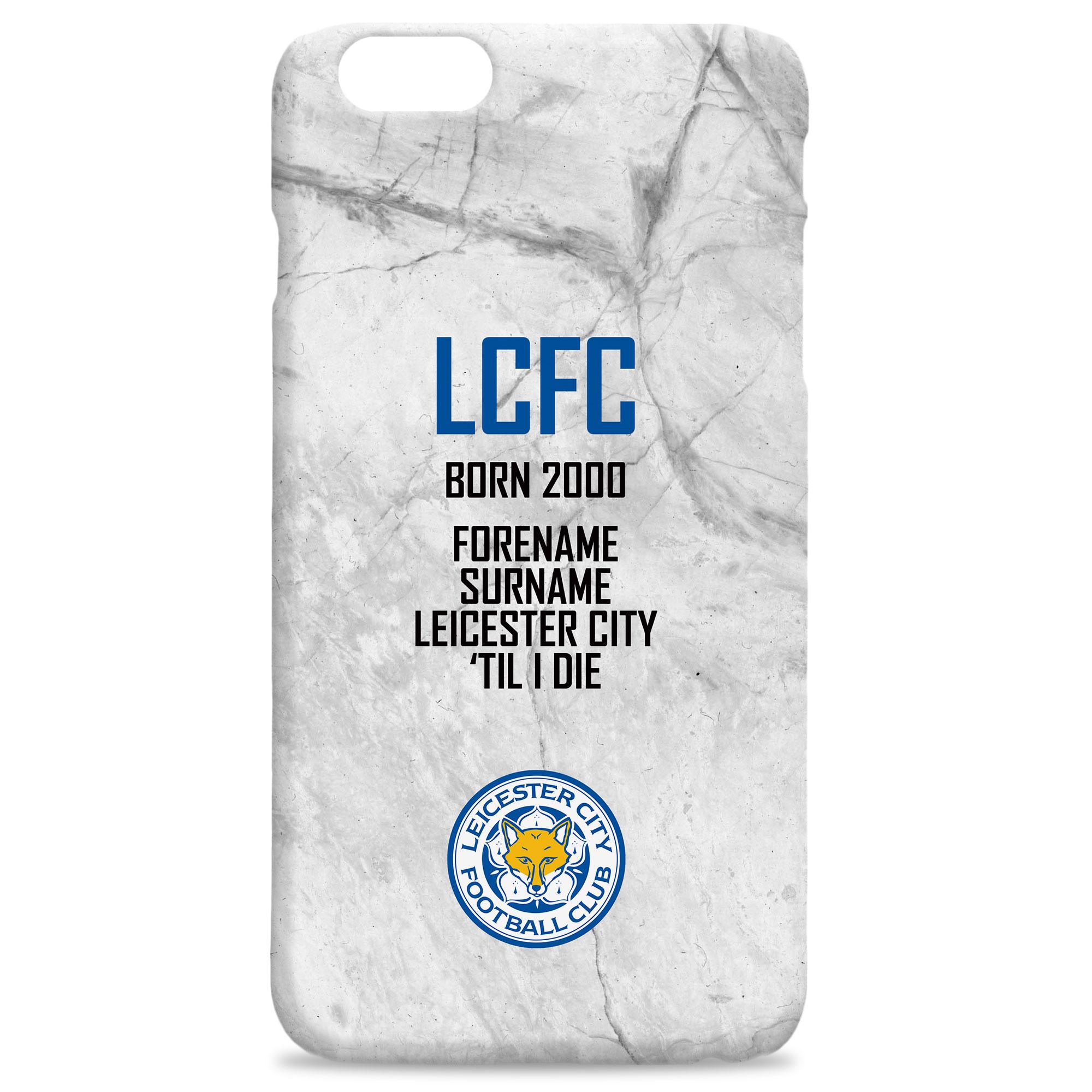 Leicester City FC 'Til I Die Hard Back Phone Case