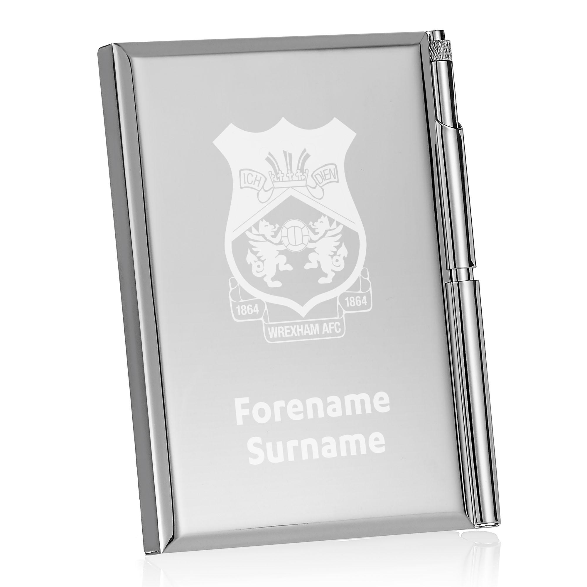 Wrexham AFC Crest Address Book