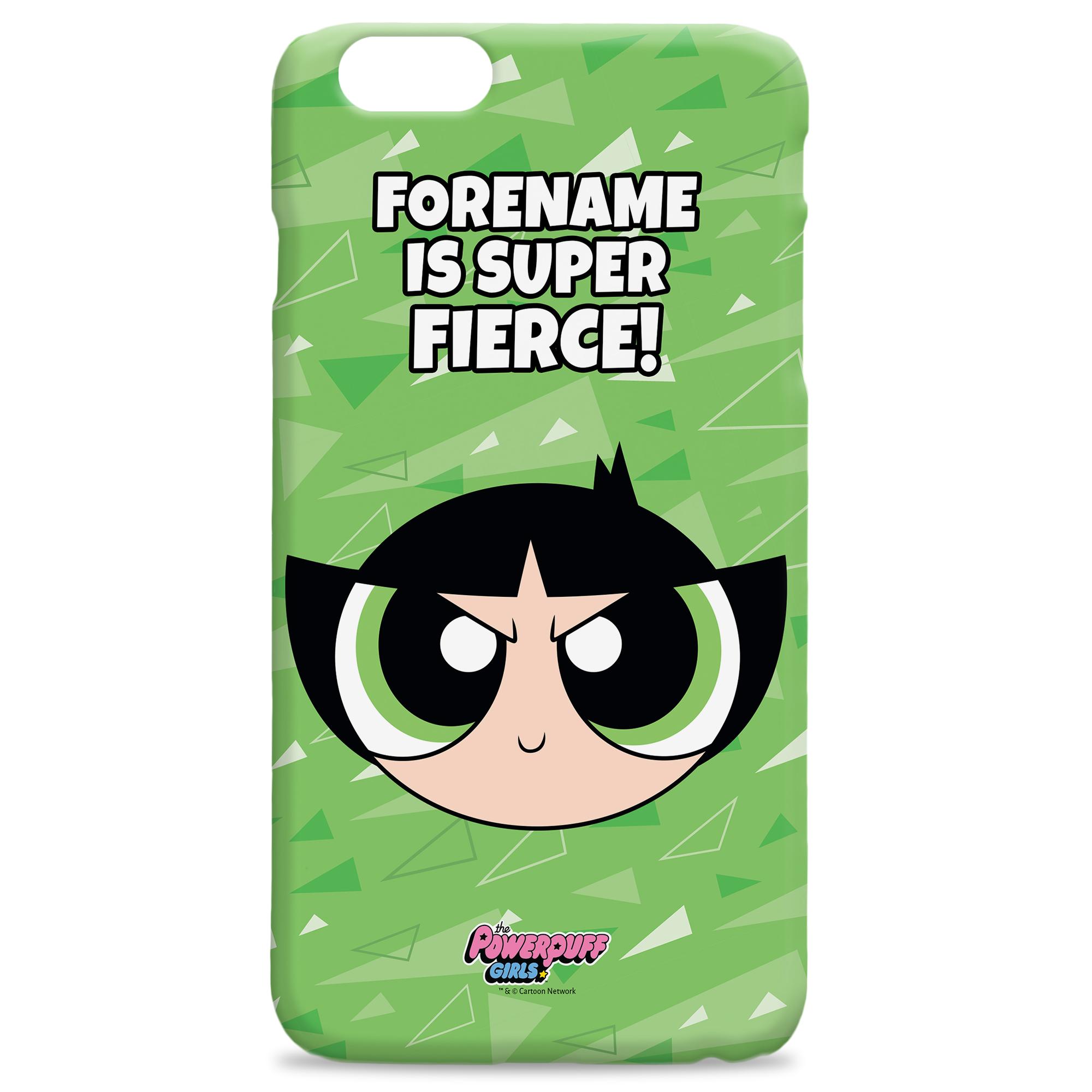 Powerpuff Girls Buttercup Pattern iPhone Case