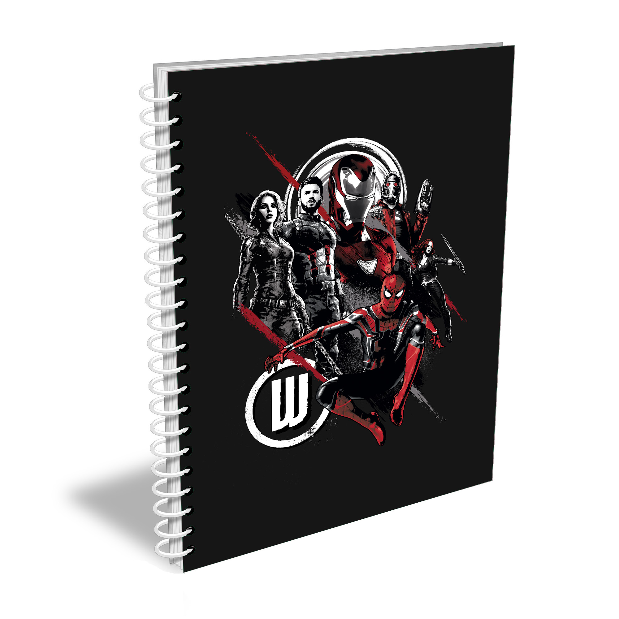 Marvel Infinity War Group Sketch A5 Notebook