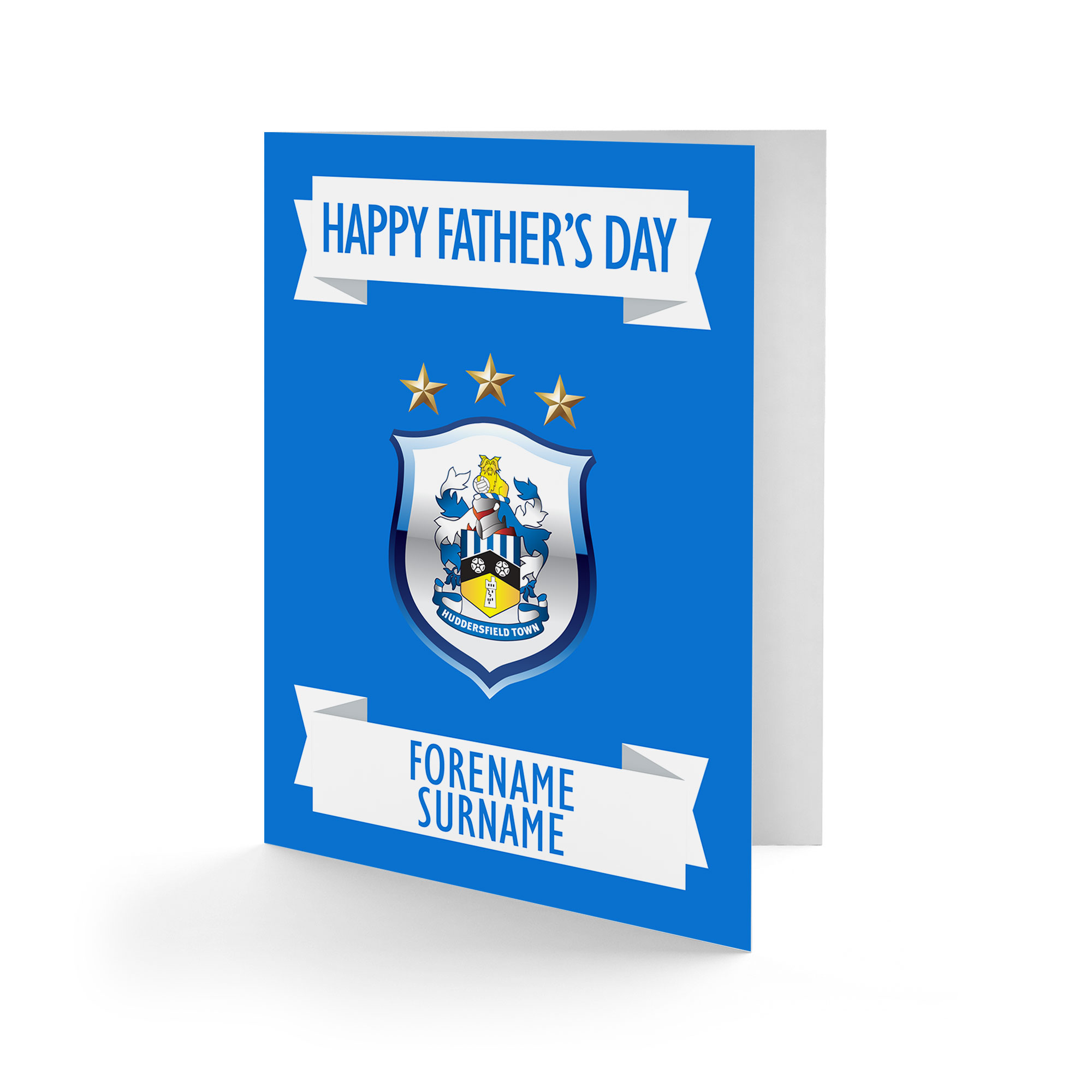Huddersfield Town Crest Father's Day Card