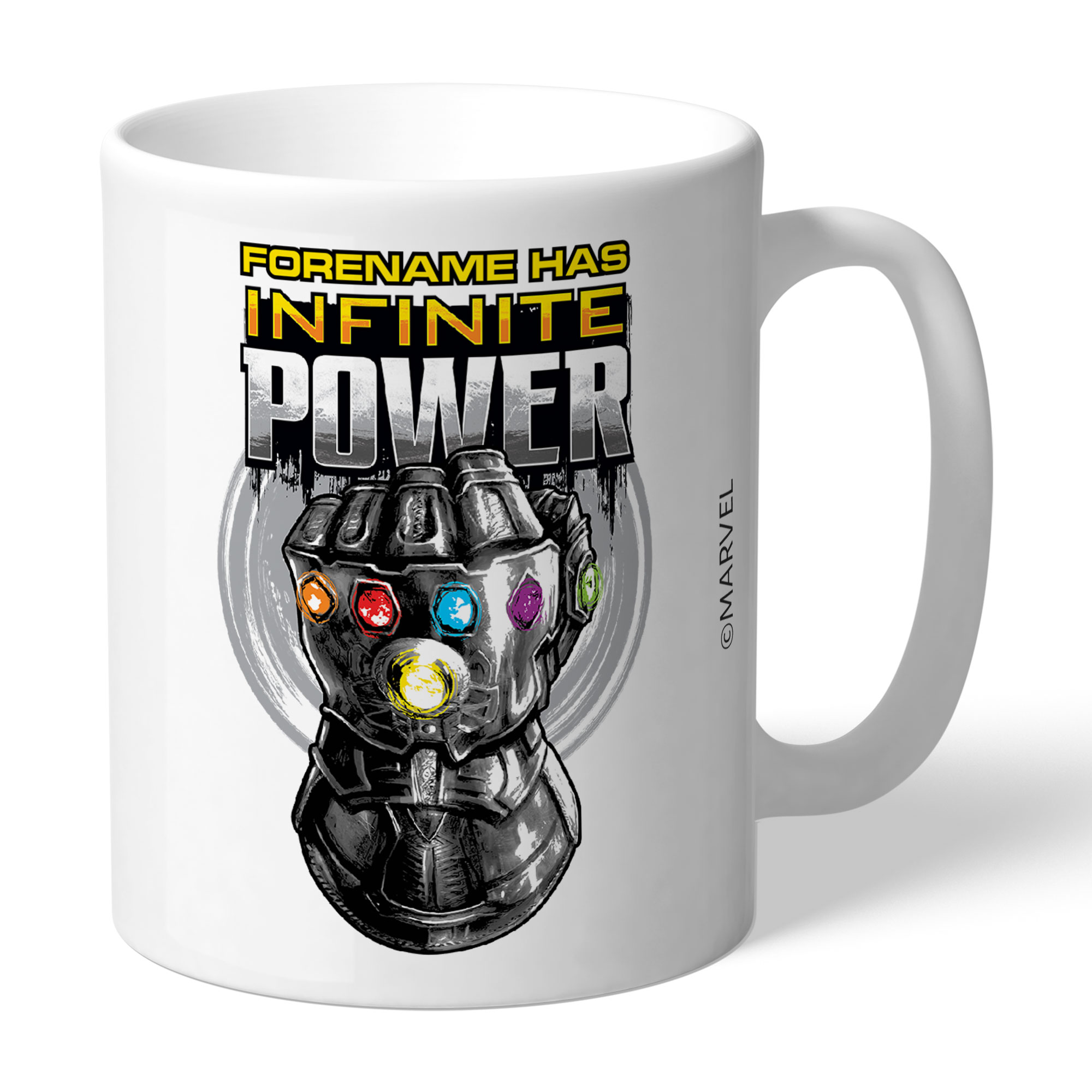 Marvel Infinity War Gauntlet Infinite Power Mug